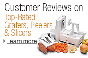 Graters, Peelers, and Slicer Reviews
