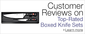 Customer Reviews on Top-Rated Boxed Knife Sets