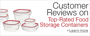 Customer Reviews on Top-Rated Food Storage