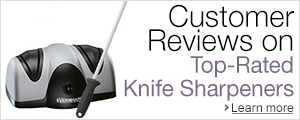 Customer Reviews on Top-Rated Knife Sharpeners