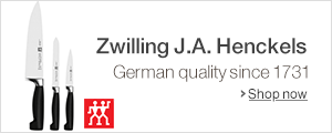 Zwilling J.A. Henckels: Quality German cutlery since 1731