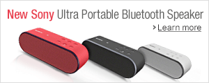 New Sony SRSX2 Ultra Portable NFC Bluetooth Wireless Speaker System