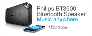 Philips Portable Wireless Bluetooth Speaker