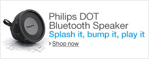 Philips Portable Water Resistant Bluetooth Speaker