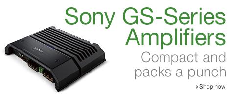 Sony Car Amplifiers
