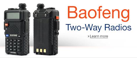 Baofeng two-way radios