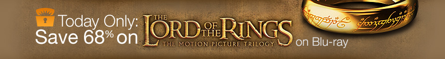 Deal of the Day: 68% off The Lord of the Rings Motion Picture Trilogy on Blu-ray