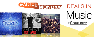Cyber Monday in Music