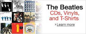 The Beatles - CDs, Vinyls, and T-shirts