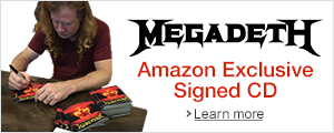 Megadeth Autograph CD