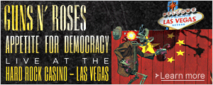 Guns N Roses Appetite for Democracy - Live At the Hard Rock Casino