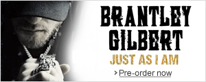 Pre-order Brantley Gilbert's new album Just As I Am