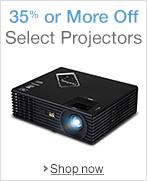 35% or More Off Projectors