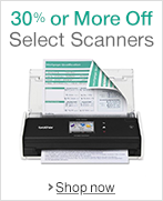 30% or More Off Scanners