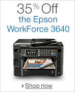 35% Off the Epson WorkForce 3640