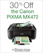 30% Off the Canon PIXMA MX472
