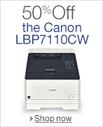 50% Off the Canon LBP7110CW