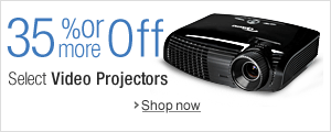 35% Off or More on Video Projectors