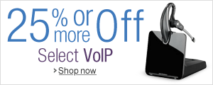 25% Off or More on VoIP