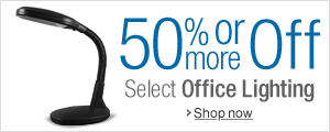 50% Off or More on Office Lighting