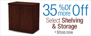 35% Off or More on Shelving & Storage
