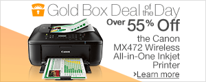 Canon MX472 Deal of the Day