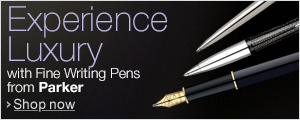 Experience Luxury with Fine Writing Pens from Parker