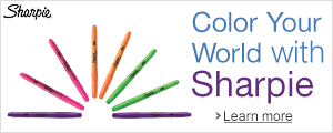 Color Your World with Sharpie
