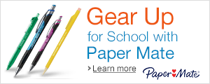 Gear Up for School with Paper Mate Pencils