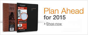 Plan Ahead for 2015