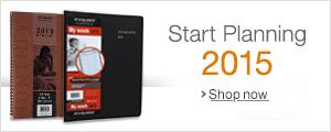 Start Planning for 2015