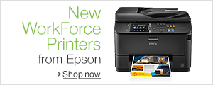 New WorkForce Printers from Epson