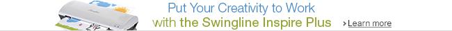 The New Inspire Plus Laminator from Swingline