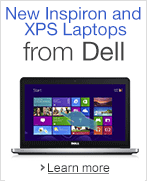 New Inspiron and XPS Laptops from Dell