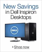 New Savings in Dell Inspiron Desktops