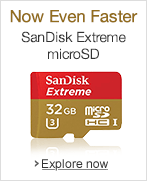 SanDisk Extreme MicroSD Cards