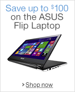 Up to $100 Off the ASUS Flip 2 in 1