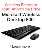 Wireless Freedom at an Affordable Price: Microsoft Wireless Desktop 800