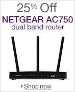 NETGEAR R6050 AC750 Wi-Fi Router Savings
