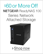 $150 or More Off NETGEAR Diskless NAS Bundled with Seagate Drives