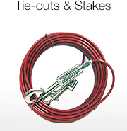 Tie-Outs & Stakes