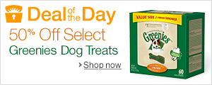 Save 50% on Select Greenies
