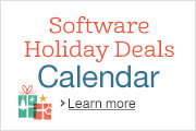 Software Holiday Deals Calendar