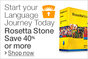 Rosetta Stone Deal of the Day