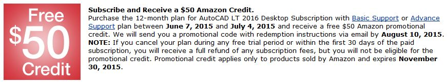 200 Amazon Credit with Subscription