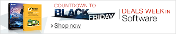 Countdown to Black Friday in Software