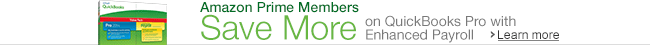 Prime Members save on QuickBooks Pro w/Payroll