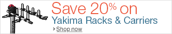 20% Off Yakima Racks, Carriers, & Accessories