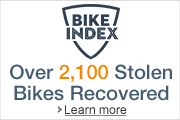 Register your bike on Bike Index