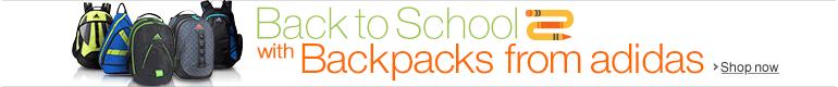 New adidas Backpacks
